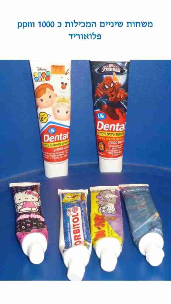 המלצת דר מלכה אשכנזי למשחות שיניים לילדים